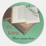 Ex Libris sticker,