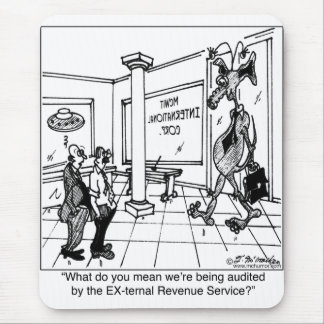 EX-ternal Revenue Service? Mouse Mat