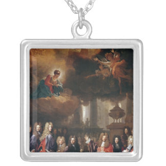 Ex-Voto, 1696 Silver Plated Necklace