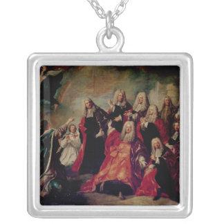Ex-Voto.Corps de Ville Demand Return Silver Plated Necklace