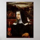 Ex Voto dedicated to St. Catherine of Siena Poster