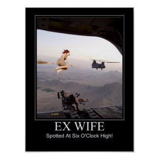 Ex Wife Spotted Poster