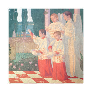 Exaltation of the Holy Cross Canvas Print