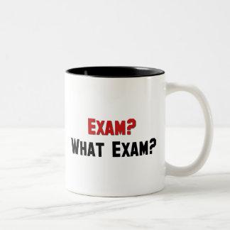 Exam What Exam Mug