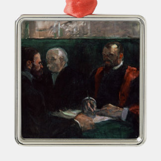 Examination at the Faculty of Medicine, 1901 Silver-Colored Square Decoration