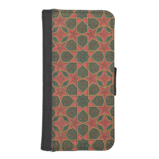 Examples of ceiling decorations, from 'Arab Art as iPhone SE/5/5s Wallet Case