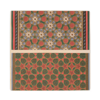 Examples of ceiling decorations, from 'Arab Art as Wood Coaster
