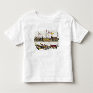 Examples of Chinese ships, illustration from 'Le C Toddler T-Shirt