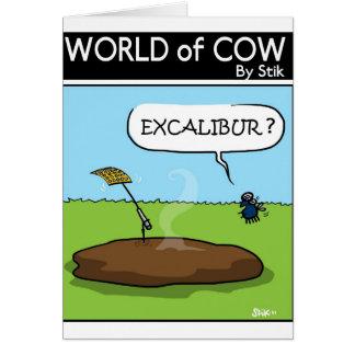 Excalibur? Card