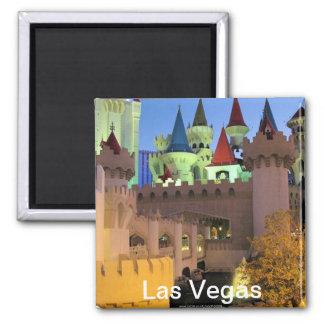 Excalibur Las Vegas magnet
