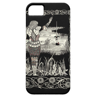 Excalibur Rising from  the Lake Case For The iPhone 5