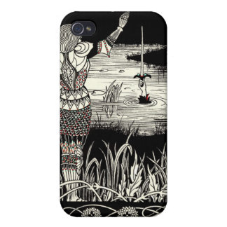 Excalibur Rising from  the Lake iPhone 4 Cover