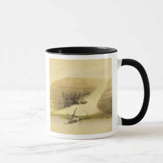 """Excavated Temple of Abu Simbel, from """"Egypt and Nu Mug"""