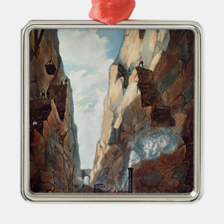 Excavation of Olive Mount, Miles from Christmas Ornament