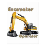 Excavator Operator Postcards