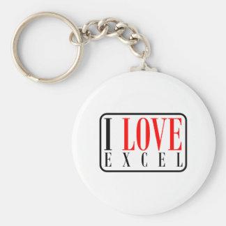 Excel, Alabama Key Ring