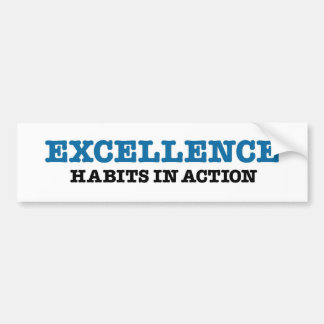 Excellence Bumper Sticker