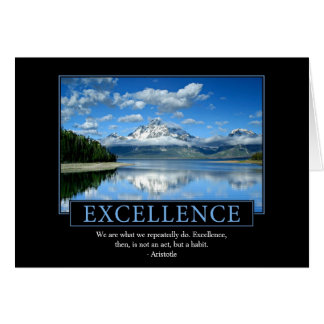 Excellence Greeting Cards