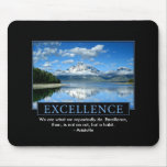 Excellence Inspirational Mouse Pad