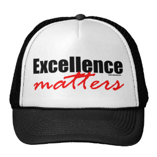 Excellence Matters Hats