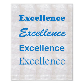 EXCELLENCE : Perfection by NAVIN JOSHI Photo Print