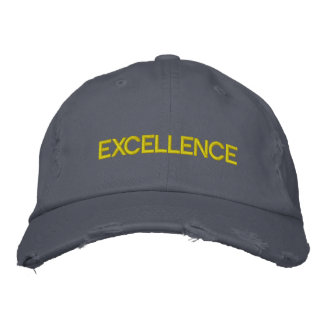 'EXCELLENCE' VIRTUOUS CAP - Customized Embroidered Baseball Caps