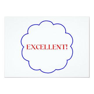 Excellent! 13 Cm X 18 Cm Invitation Card