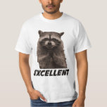 Excellent Evil Plotting Racoon Shirts