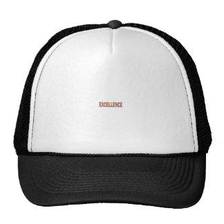 EXCELLENT EXCELLENCE Quality Achievement Topper Trucker Hat