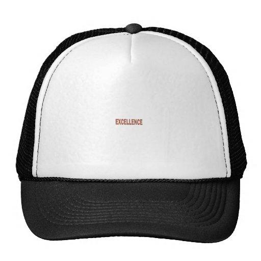 EXCELLENT EXCELLENCE Quality Achievement Topper Hat
