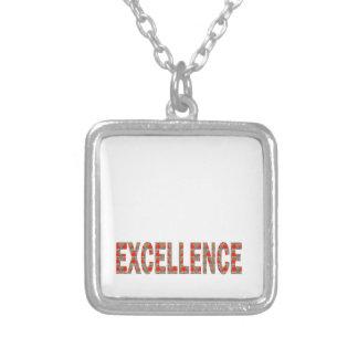 EXCELLENT EXCELLENCE Quality Achievement Topper Necklace