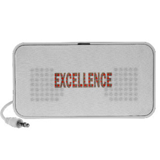 EXCELLENT EXCELLENCE Quality Achievement Topper iPod Speakers