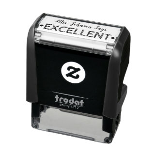 Excellent | Personalized Teachers Stamp