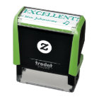 """""""EXCELLENT!"""" + Teacher's Name Rubber Stamp"""