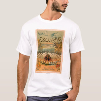 Excelsior Kiralfy Spectacular Triumph Theatre T-Shirt