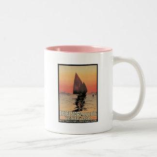 Excelsior Palace Hotel Venise  Lido Italy Two-Tone Coffee Mug