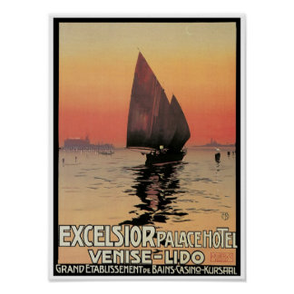 Excelsior Palace Hotel: Venise-Lido Poster