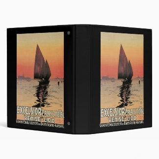 Excelsior Palace Hotel Venise Lido Vinyl Binder
