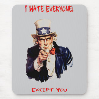 Exceptions Mouse Pad