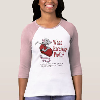 Excessive Profits Ladies Shirt