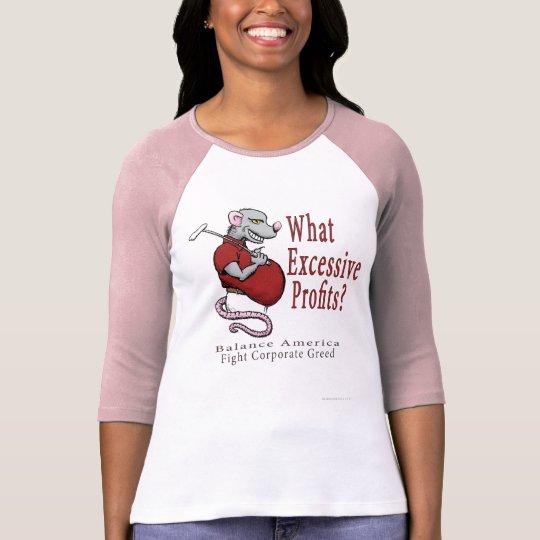 Excessive Profits Ladies Shirt