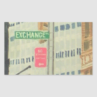 Exchange Place Stickers
