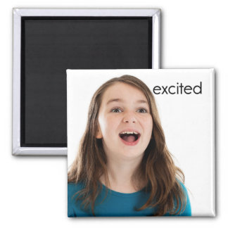 Excited Refrigerator Magnet