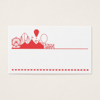 Exciting Party and Events Business Card