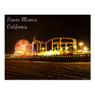 Exciting Santa Monica Beach Postcard