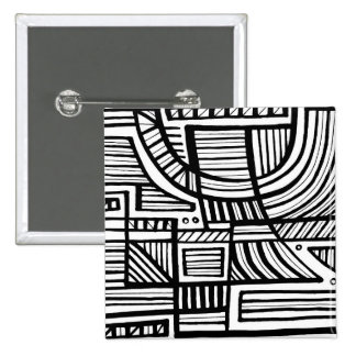 Exciting Sophisticated Cheerful Sweet 15 Cm Square Badge