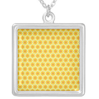 Exciting Sophisticated Cheerful Sweet Square Pendant Necklace