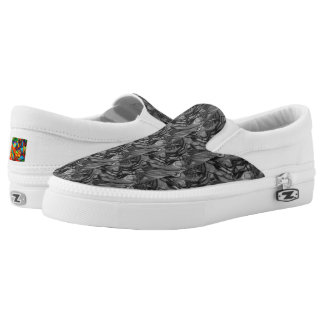 Exclamation Slip On Shoes