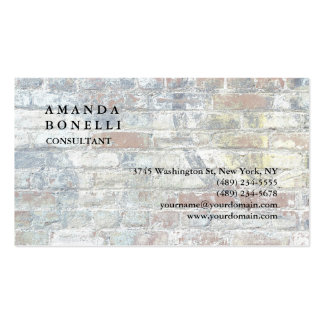 Exclusive Modern Wall Trendy Minimalist Chic Pack Of Standard Business Cards