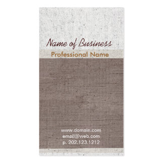 Exclusive Occupational Upscale Aged Pack Of Standard Business Cards